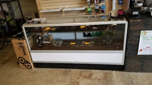 Glass Retail Display Cabinets (matching pair)
