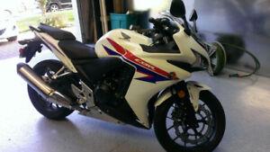 Moto Honda CBR 500 2013