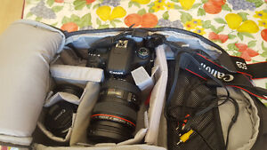 Canon Rebel T6S with 24-105 mm L IS USM  Lense