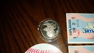 Blue Jay's memorabilia two tickets 1st Skydome game June 5, 1989