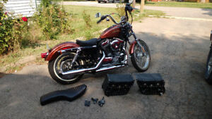 Like New 2014 HD Sportster '72 only 20kms!!