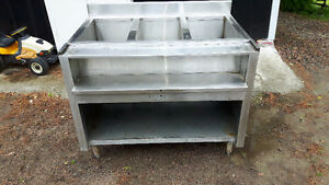 Stainless Steel . Sink / Counter  Thing . Great for Work Shop .