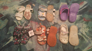 Toddler girls shoes sizes 5,7,9