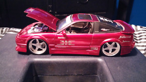 Rare Jada Import Racer 1/24 Scale Nissan 240SX Diecast