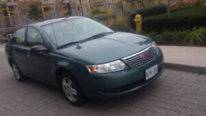 2007 Saturn ION Sedan recently maintained and in Good Condition