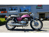 1976 Suzuki T500 2 Owners Imported UK Reg 1381 Miles Excellent Condition Rare
