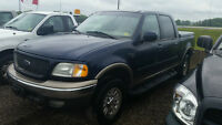 2002 Ford F-150 Super Crew 4X4 **Cert and E-tested!**
