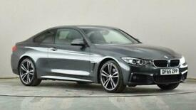 image for 2015 BMW 4 Series 420d [190] xDrive M Sport 2dr [Professional Media] Coupe diese