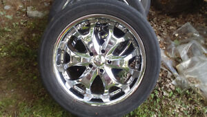22 inch  dodge/Ford rims Kingston Kingston Area image 1