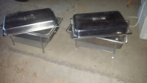 Banquet chafing units
