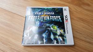 Metroid prime fédération force Nintendo 3ds