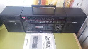 Panasonic Portable Stereo Boombox RX-CW43 - Please Read