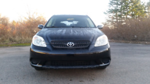 TOYOTA MATRIX / VERY LOW KMS / NEW MVI / ULTIMATE GAS SAVER