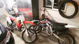 Two Mint cr250s Trades Welcome