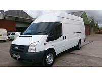 2007 57 FORD TRANSIT 2.4 350 LWB EF HR 1D 115 BHP PART X JUMBO NO VAT ////