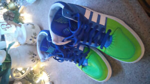 Men's Adidas Leather Basketball Sneakers