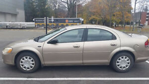2004 Chrysler Sebring LX Sedan