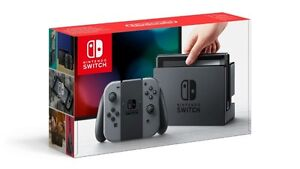 Nintendo Switch System & Zelda Breath of the Wild Game (New)