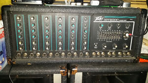Peavey mixer amp and speakers Campbell River Comox Valley Area image 3
