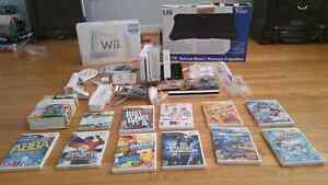 MASSIVE Nintendo Wii BUNDLE With 12 Games And Accessories