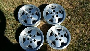 15x7 Jeep Wrangler rims in great shape. 5 on 4.5 bolt pattern