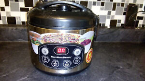 HAMILTON BEACH BEYOND RICE DIGITAL COOKER & STEAMER