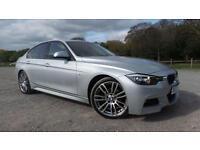 2013 63 BMW 3 SERIES 2.0 318D M SPORT 4D AUTO 141 BHP DIESEL