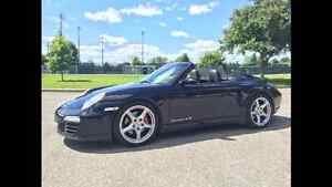 2007 Porsche 911 Carrera 4s convertible look 2012
