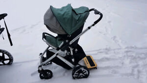 Uppa Vista Stroller with many accessories