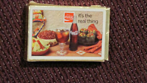 REDUCED - Vintage Coca-Cola Deck of Playing Cards