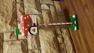 Christmas mailbox decor