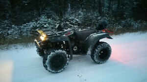 1995 Yamaha Big Bear 350,  4x4 with plow *Has key and papers!