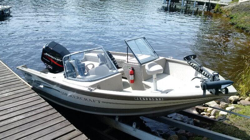 2003 Smoker Craft Ski Fish Boat for sale | Powerboats & Motorboats |  Winnipeg | Kijiji