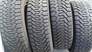 4 Goodyear Nordic winter Tires