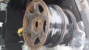 16 INCH STEEL RIMS FOR SALE