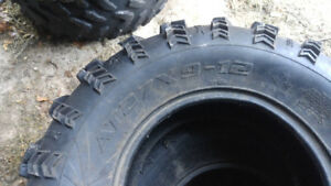 """27"""" Sling shot front 9x12x27 used no plugs better than 1/2 tread"""