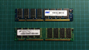 NEW PRICE - 1 GB of SDRAM Memory (2 x 512 MB PC 133 RAM)