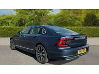 2021 Volvo S90 T8 PLUG-IN HYBRID AWD INSCRIPTION Leather, Heated Front Seats, Fr