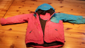Manteau d'hiver (ski), Helly Hansen, fille 6 ans