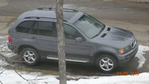 2001 BMW X5 3.0L4 door SUV, Crossover, original paint, 2nd owner