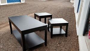 Like new living room table set - 3 PC