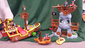 Fisher-Price Disney's Jake and The Never Land Pirates Sets