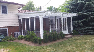 Protect your patio with a  Patio Covers,Pergolas,Clear Roofs Oakville / Halton Region Toronto (GTA) image 8