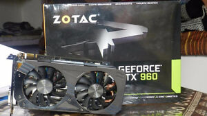 Zotac gtx 960 2gb graphics card