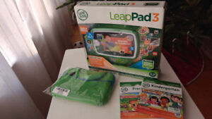 Brand New - LeapFrog LeapPad 3,  Two games and tablet case