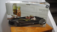GE Electric grill and griddle set