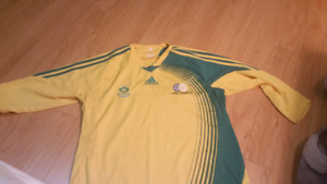 Soccer /football and jersey from south africa