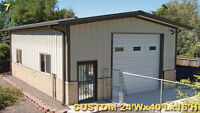 Steel Buildings On Special For September Only!