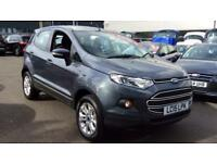 2015 Ford EcoSport 1.5 Zetec 5dr Manual Petrol Hatchback
