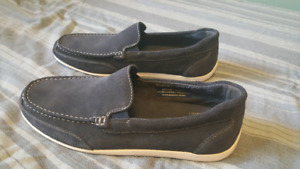 11.5 mens blue suede leather shoes